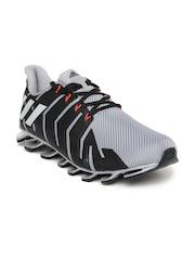Adidas Men Grey & Black Springblade Pro Running Shoes