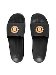 Adidas Men Black Manchester United FC Flip-Flops