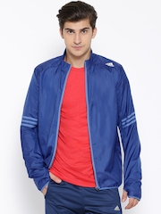 Adidas Blue RS Windcheater Running Jacket