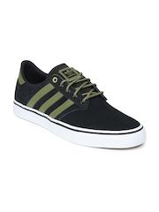 Adidas Originals Men Black Seeley Premiere Skateboard Shoes