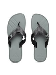Adidas Men Black & Grey Brizo 4.0 Flip-Flops