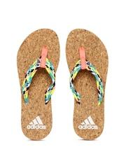 Adidas Women Multicoloured BEACH CORK THONG Flip-Flops
