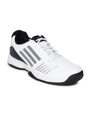 Adidas Men White All Court Tennis Shoes