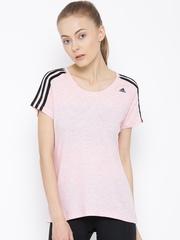 Adidas Pink ESS T-shirt