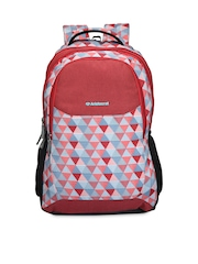 Aristocrat Kids Red Printed Backpack