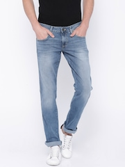 Wrangler Blue Washed Rockville Regular Fit Jeans