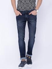 Wrangler Blue Washed Rockville Regular Fit Jeans