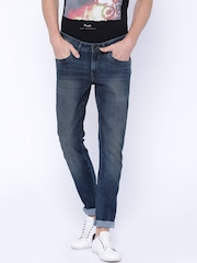 Wrangler Blue Low-Rise Vegas Fit Jeans