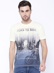 Wrangler White Printed T-shirt