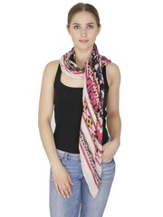 Citypret Multicoloured Printed Scarf