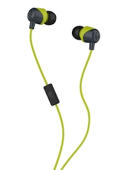 Skullcandy Green JIB Earbuds with Mic