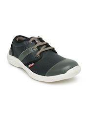 Lee Cooper Unisex Black & Grey Sneakers