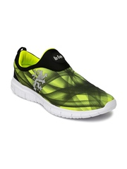 Lee Cooper Men Lime Green & Black Training Shoes