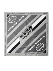 Harley-Davidson Men Grey Printed Bandana
