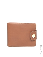 Fossil Men Brown Genuine Cowhide Leather Wallet