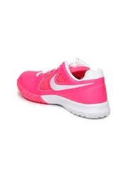 Nike Women Pink Air Vapor Ace Leather Tennis Shoes