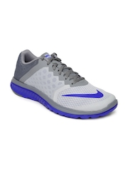 Nike Men Grey FS Lite Run 3 Running Shoes