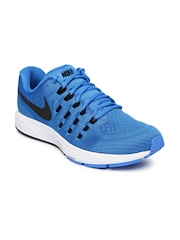 Nike Men Blue Air Zoom Vomero 11 Running Shoes
