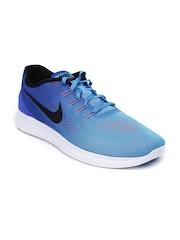 Nike Men Blue Free RN Running Shoes