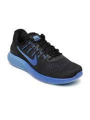 Nike Men Black Lunarglide 8 Running Shoes