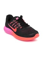 Nike Women Black Lunarglide 8 Running Shoes
