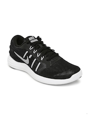Nike Men Black Lunarstelos Running Shoes