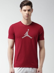Nike Red AS ENGINEERED FOR FLIGHT DF T-shirt
