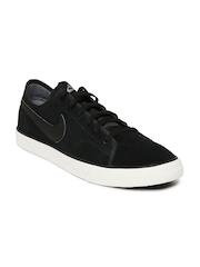 Nike Men Black Primo Court Suede Sneakers