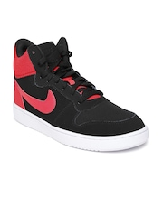 nike casual shoes black