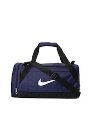 Nike Unisex Navy Brasilia 6 Duffel Bag