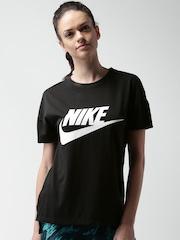 Nike Black AS NSW SIGNAL LOGO T-shirt