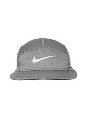 Nike Unisex Grey DRI-FIT Running Cap
