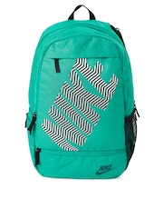 Nike Unisex Green Printed Classic Line Backpack