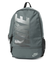 Nike Unisex Grey Classic North Printed Backpack