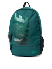 Nike Unisex Teal Green Classic North Printed Backpack