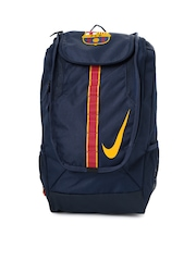 Nike Men Navy Allegiance Barcelona Shield Backpack