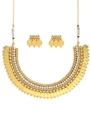 Zaveri Pearls Gold-Plated Jewellery Set