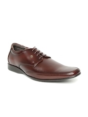 Franco Leone Men Coffee Brown Formal Shoes