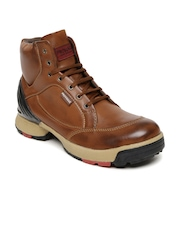Provogue Men Tan Brown Boots