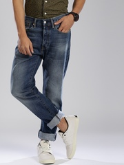 Levi's Blue Tapered Jeans 501