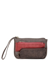Baggit Women Brown Mobile Pouch