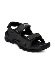 FILA Men Black Sports Sandals