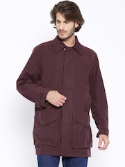 Timberland Burgundy Parka Jacket