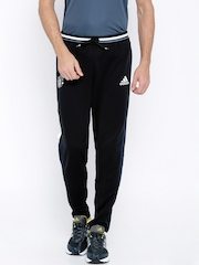 Adidas Black Manchester United Polyester Training Track Pants