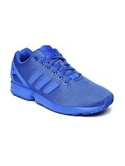 Adidas Men Blue ZX Flux Sneakers