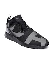 Adidas Originals Men Black ZX Flux Adv Asym Sneakers