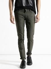 Antony Morato Olive Green Super-Skinny Fit Jeans
