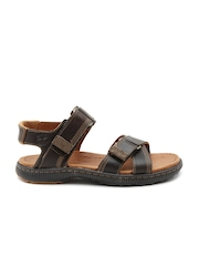 Timberland Men Brown Leather Sandals