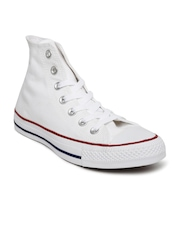 Converse Unisex White High-Top Sneakers
