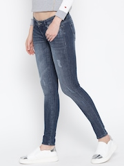 Lee Blue Washed SD Jenny Skinny Tapered Fit Jeans